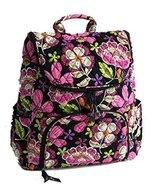 Vera Bradley Double Zip Backpack in Pirouette Pink with Black Interior [Apparel]