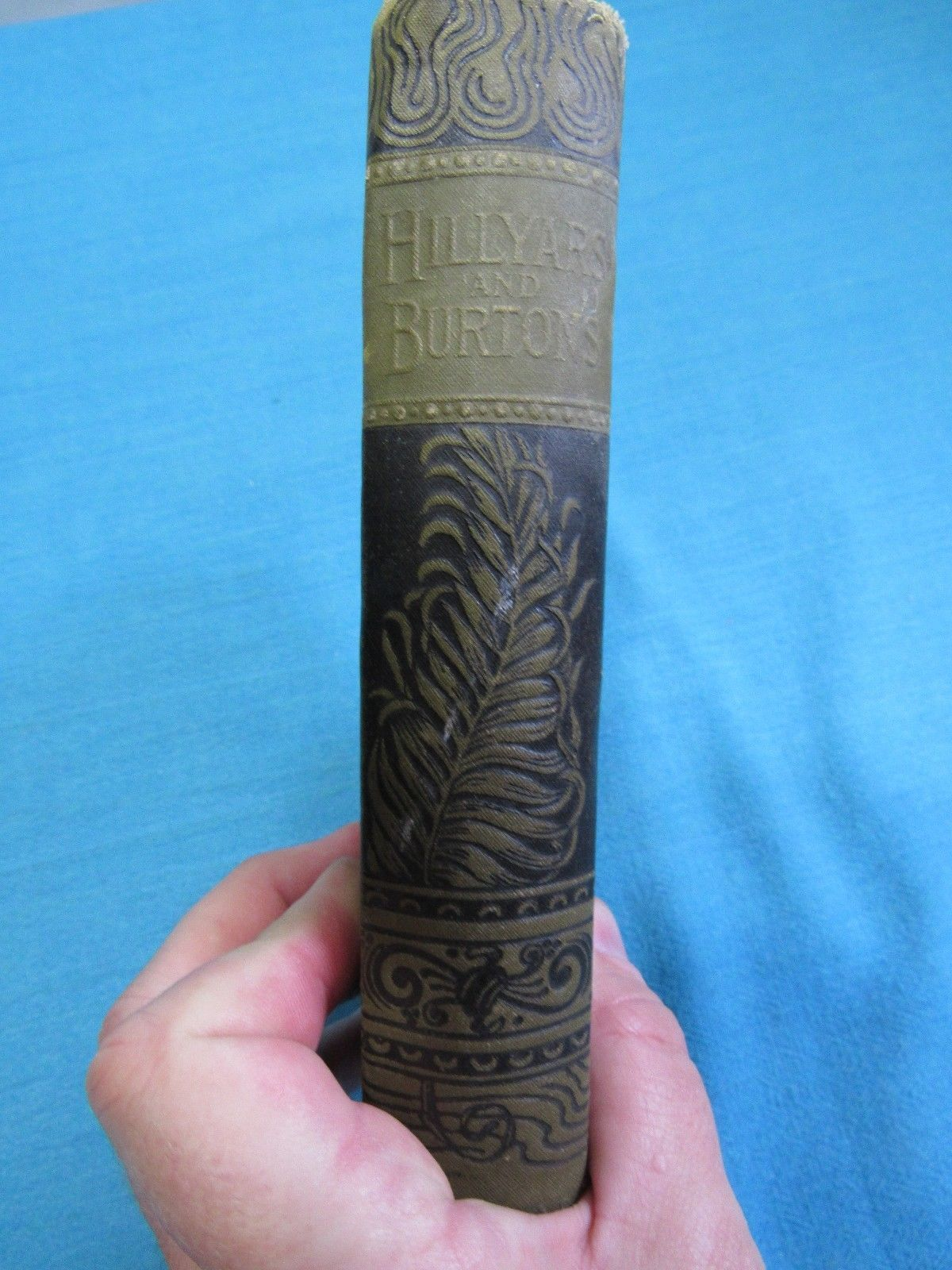 Hillyars and the Burtons by Henry Kingsley  Dragon Cover Dodd Mead & Company