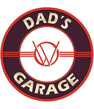 Dad's Garage Willy Metal Sign - $29.95