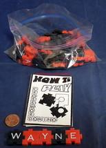 Crossword Domino~1969~Chadwick Miller Inc~Boston,Mass~Game~Red & Black Plastic - $10.00
