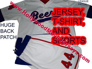 Baseketball complete jersey set