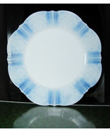 "8"" Salad Plate American Sweetheart-Monax White by MacBeth-Evans blue und... - $22.00"