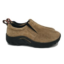 MERRELL Jungle Slide Women's Moc Classic Taupe Suede Slip On Shoes Size 6 - $28.50