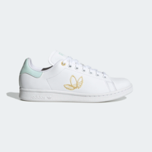 Adidas Original Damen Stan Smith Schuhe Mit Verspielt Stickerei Weiß - $162.15