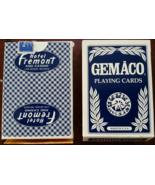 Hotel FREMONT & Casino  Las Vegas, Nevada Playing Cards, Blue, New - $8.95