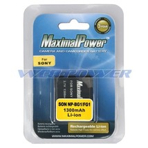 Camera Battery For Sony Np Bg1 Np Fg1 Npbg1 Cyber Shot Dsc W200 Dsc W120 Dsc W100 - $11.57