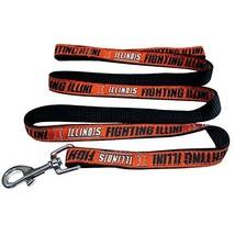 Pets First Collegiate Pet Accessories, Dog Leash, Illinois Fighting Illi... - $10.88
