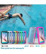 10M Waterproof Diving Case For Samsung Galaxy S6 S6 Edge BLACK  - $39.99