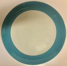 Room Essentials TEAL BANDED Dinnerware Collection RE Stoneware - $9.99