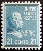 1938 21c Chester A. Arthur Scott 826 Mint F/VF NH - $2.49