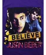 Justin Bieber Concert T-Shirt with Cody Simpson / Carly Rae Jepsen Adult... - $15.98
