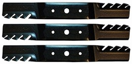 3 Pack Stens 302-444 Replaces John Deere Toothed Blade Gx20250, L120, L130 - $28.30