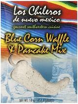 Los Chileros Blue Corn Pancake and Waffle Mix, 16 Ounce - $10.80