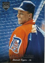 1995 Upper Deck Electric Diamond Silver Lou Whitaker 188 Tigers - $1.00