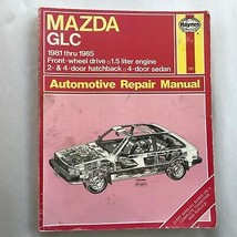 Mazda GLC  1981-1985  Haynes Repair Manual, Service Guide Automotive Book - $9.85