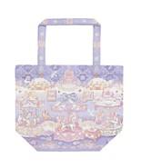 Angelic Pretty Eternal Carnival Eco Tote Bag in Lavender Lolita Fashion - $76.00