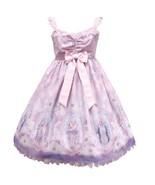 Angelic Pretty Cecilia Cross Jumperskirt JSK Dress Pink Lolita Japanese ... - $525.00