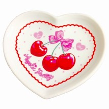 Angelic Pretty Wrapping Cherry Plate in White L... - $69.00