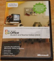 Microsoft Office Student and Teacher Edition 2003 (CD-ROM) - $5.99
