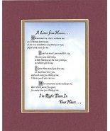GoodOldSaying - Poem for Bereavement - A Letter from Heaven . . . Poem o... - $15.79