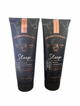 BATH BODY WORKS*SLEEP BLACK CHAMOMILE*Cream Lotion*AROMATHERAPY* Lot Of 2 - $24.74