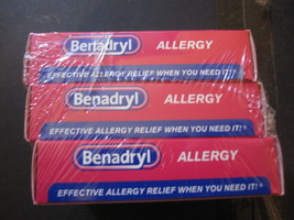 Benadryl Allergy 3-48 Count Boxes Ultratab - $17.49