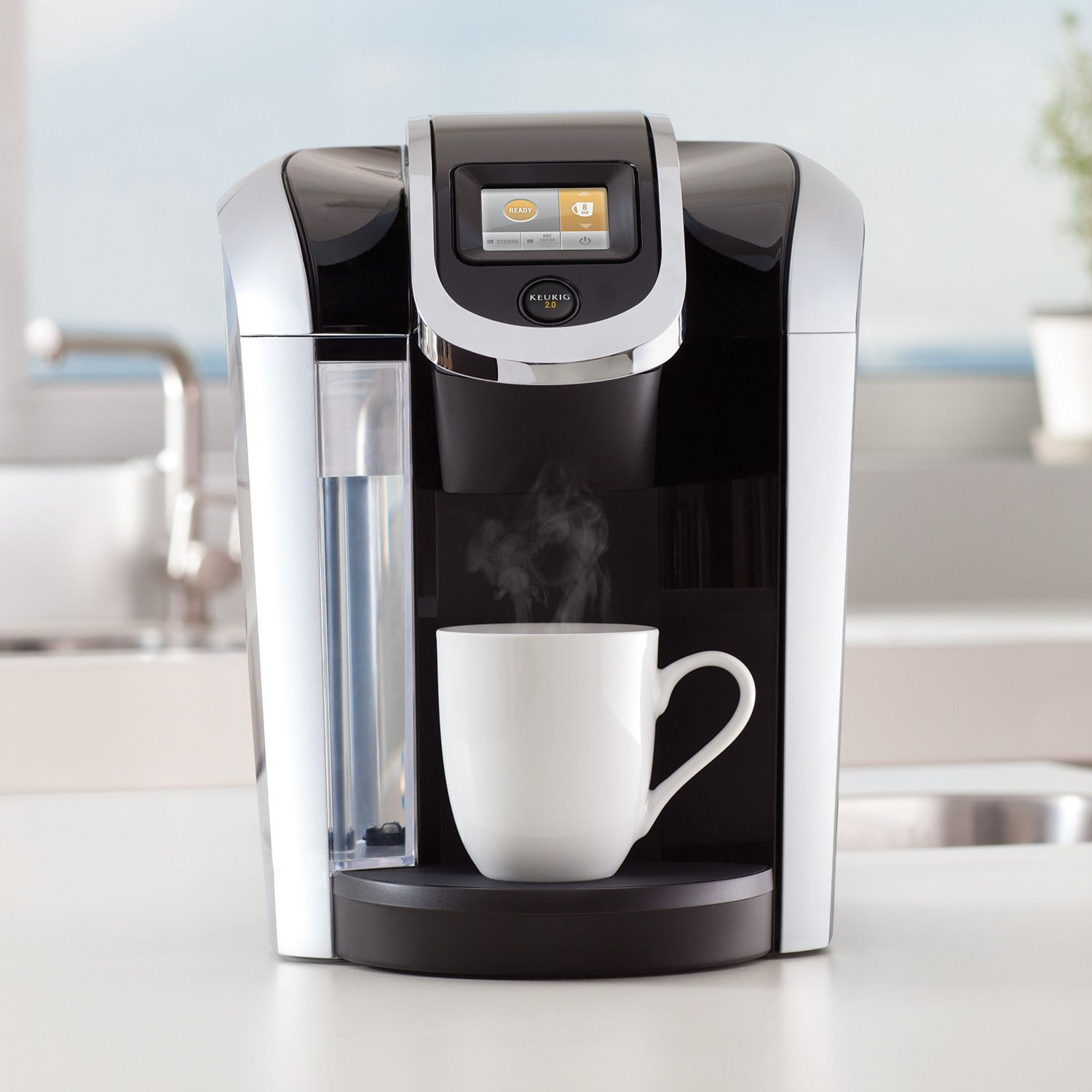 Keurig K425S Coffee Maker with 24 K-Cup Pods & Reusable K-Cup 2.0 Coffee Filter - Coffee Makers ...