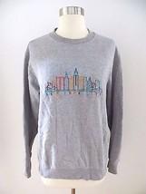 New York City embroidered gray sweatshirt sweater shirt UNISEX ADULT SIZ... - $19.94