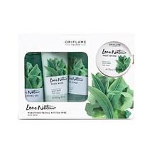 Oriflame Sweden Ayurvedic Tea Tree Nature Facial Kit (Green) - $23.39