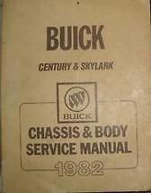 1982 Buick Skylark Shop Repair Service Workshop Manual Chassis & Body Oem Gm - $9.85