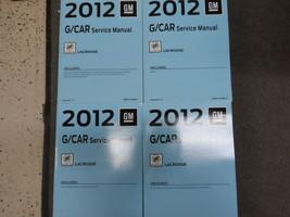 2012 BUICK LACROSSE Service Shop Repair Manual Set FACTORY BOOKS 2012 NEW - $356.35
