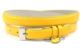 New Classy Womens Skinny Leather Belt with Shiny Buckle Many Colors S-XL (XL ... - $4.45
