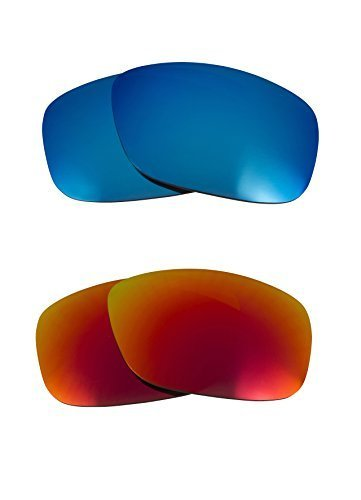 Primary image for New SEEK OPTICS Replacement Lenses Oakley TEN - Polarized Red Blue