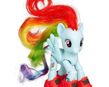 My Little Pony Explore Equestria Rainbow Dash sightseeing poseable figure