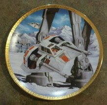 Star Wars Collector Plate Snowspeeders Space Ve... - $30.00