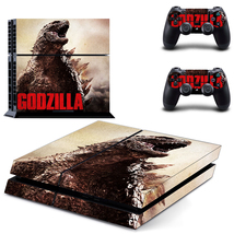 Godzilla skin for ps4 console and controllers - $15.00