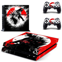 Godzilla skin for playstation 4 console and controllers - $15.00
