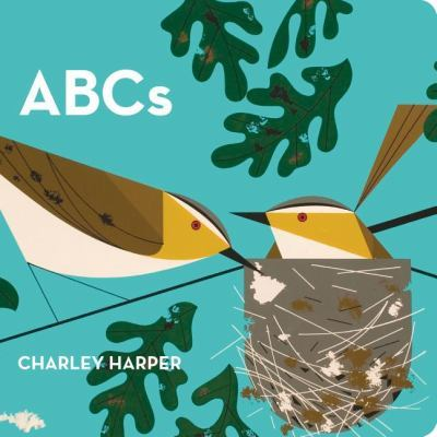 ABCs by Charley Harper (2008, Board Book) EUC