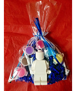 12  LEGO  party favors to paint.Creative.PRICE PER 12 BAGS. 1 figure in each. - $47.49