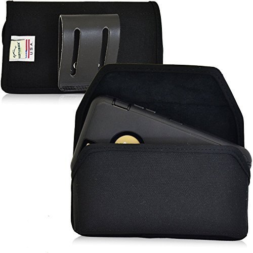 Turtleback Phone Holster Pouch Case for iPhone 6 6S (4.7 in) with Otterbox, Blac