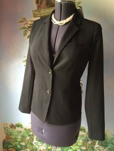 Gap Women's Black Long Sleeve Suit Jacket Blazer Size 4 New - $64.34
