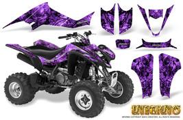 Suzuki Ltz 400 Kawasaki Kfx 400 03 08 Graphics Kit Creatorx Decals Inferno Pr - $178.15