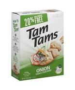 Cracker Snack Tamtam Onion (Pack of 12) - $81.95