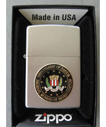 "ZIPPO "" FBI "" Lighter. New in Box. Raised emblem. Free Shipping. - $66.00"