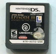 Star Wars Episode III: Revenge of the Sith (Nintendo DS, 2005) Cartridge... - $8.90