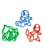Kanto Trio Pokemon Cookie Cutters - $22.50