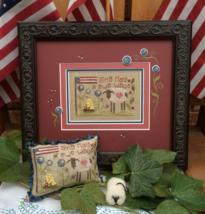 Long May Ewe Wave LIMITED EDITION Kit patriotic cross stitch Shepherd's ... - $30.00