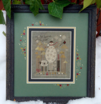 Slate Snowman Kit cross stitch kit Shepherd's Bush - $30.00