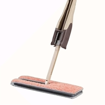 TIAN CHEN Microfiber Hardwood Floor Cleaning -Flat Mop, Self mop holder,... - $59.90