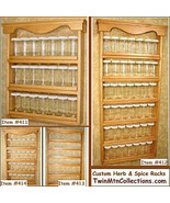 Spice Rack - Custom Sizes - $81.95